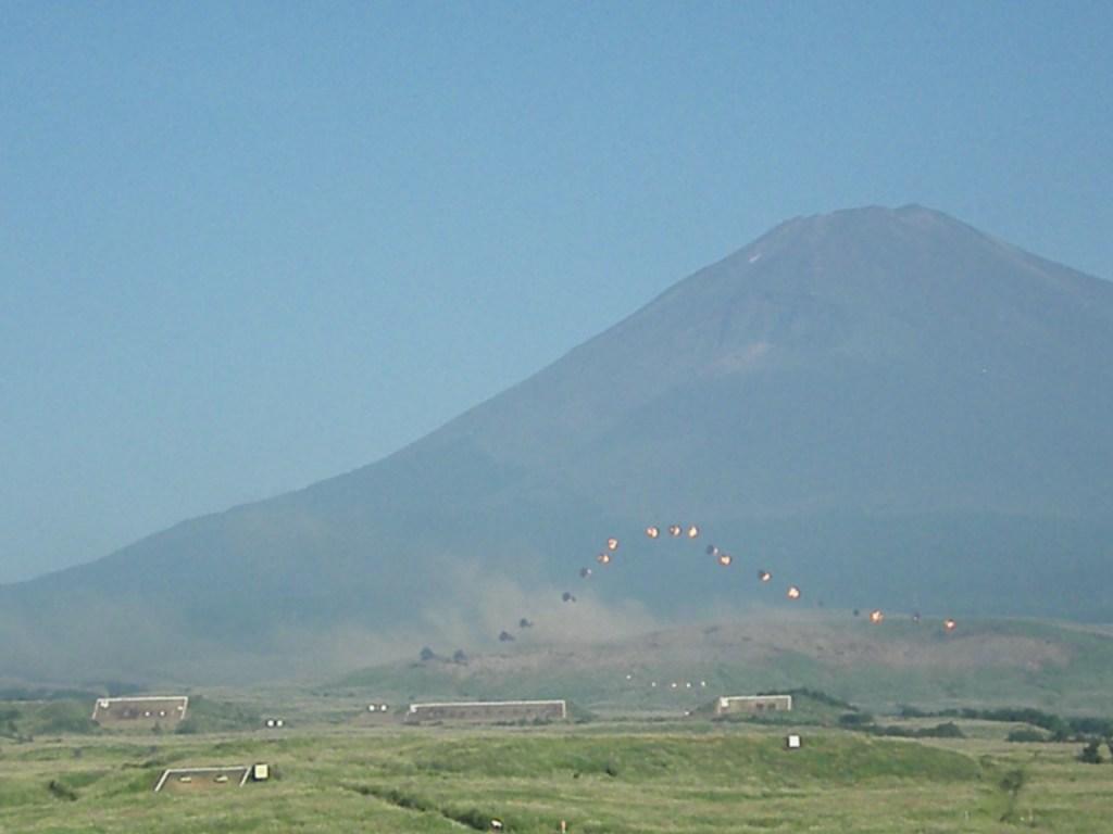 平成21年度富士総合火力演習