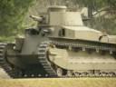 レストアされた八九式中戦車